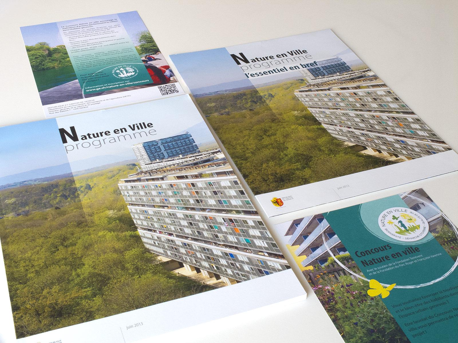 Documents Programme Nature en ville pour l'Etat de Genève - DETA