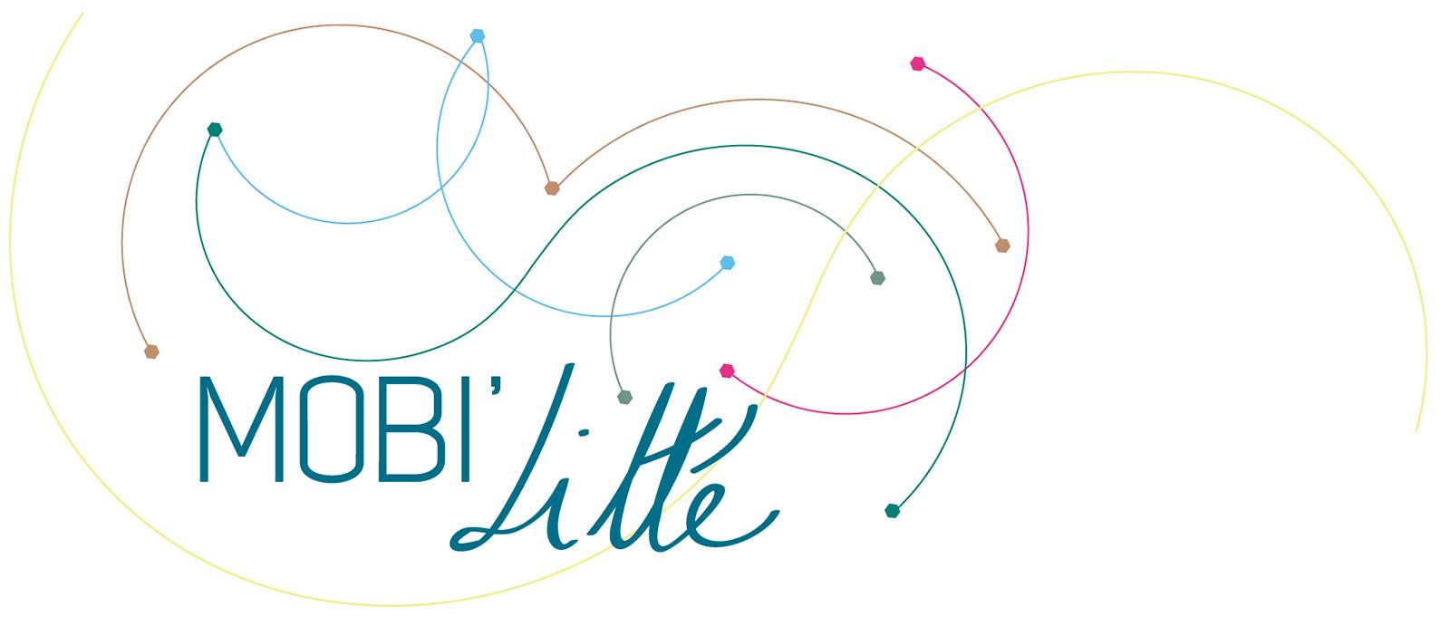 Visuel crée pour l'événement Mobi'Litté organisé par Lettres frontière