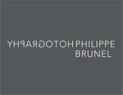 Travail graphique pour Philippe Brunel Photography