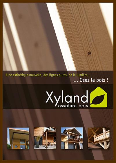 Première de couverture de la pochette de Xyland Ossature Bois en couleur