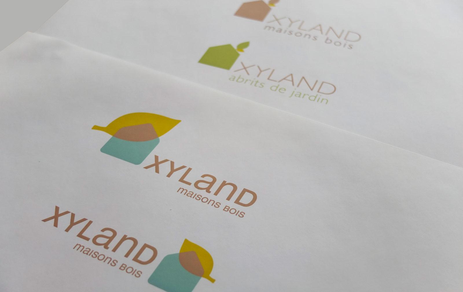 recherches logo Xyland