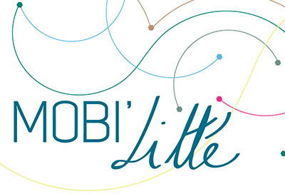 Détail du visuel créé pour l'événement Mobil'Litté pour l'association Lettres frontière